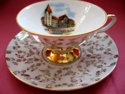 Wiener Neustadt Akademie Eigl porcelán emlék csésze