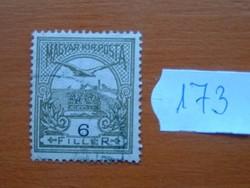 6 FILLÉR 1900- Turul a Szent István korona felett 173#