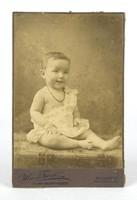 0Y389 Antik Mai és Társa fotográfia gyermek fotó