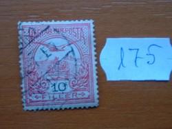 10 FILLÉR 1900- Turul a Szent István korona felett 175#