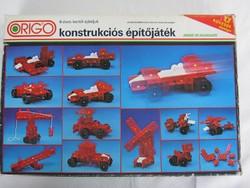 Retró Origo konstrukciós építőjáték