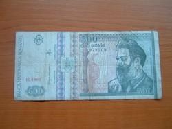ROMÁNIA 500 LEI 1992 H. SZÉRIA