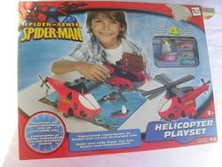 Pókemberes - helikopteres játék - bontatlan csomagolás - angliából