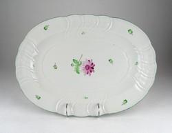 0Y375 Nagyméretű Herendi porcelán kínáló tálca