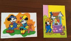Disney mesehősök képeslapok, képeslap