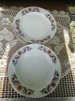 6+6+3 db Zsolnay tányér