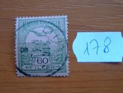 60 FILLÉR 1904- Turul a Szent István korona felett 178#
