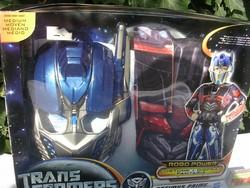 Transformers -álarc - mellvért - Angliából - álarc mérete 25 x 17 x 7 cm