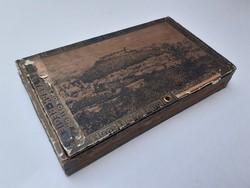 Régi cigarettás doboz 1915 Operas tabak