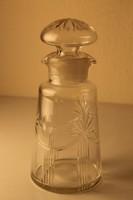 Patikaüveg, kristály gyógyertári üveg