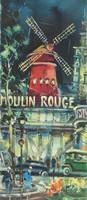 0Y292 Párizsi nyomat : Moulin Rouge