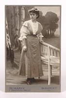 0Y388 Antik Hungária műtermi fotográfia