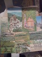Régebbi magyar hegység térképek