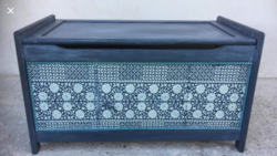Vintage Tárolós pad, láda