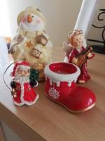 Karácsonyi dekorációhoz figurák