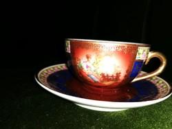Zsolnay Antik Extrém Ritka kávés csésze