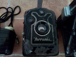 Ferrania régi fényképezőgép