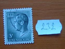 LUXEMBURG 3 F 1965-1988 Jean Definitives nagyherceg 232#