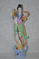 Nagyobb méretű Kínai hölgy figura  ( DBZ 0064 )