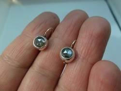 Gyémántos antik arany buton fülbevaló pár