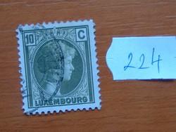 LUXEMBURG 10 C 1926 Charlotte nagyhercegnő 224#