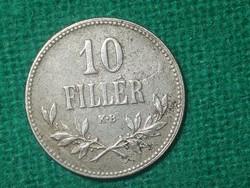 10 Fillér 1918 !! Szép !