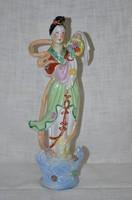Kisebb méretű Kínai hölgy figura  ( DBZ 0064 )