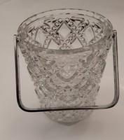 Üveg jégkockatartó