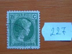 LUXEMBURG 35 C 1930 Charlotte nagyhercegnő 227#