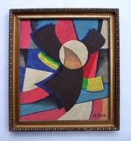 Réth Alfréd kubista festménye