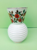 Retró szép formatervezett porcelán váza