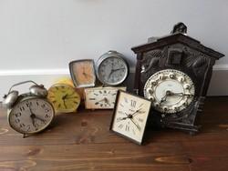 Retro óra romok dekorációnak alkatrésznek
