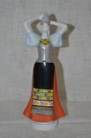 Aquincum népi ruhás leányzó  ( DBZ 00100 )