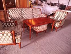 Warrings XVI.Lajos stilusú 5 darabos ülőgarnitura