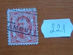 LUXEMBURG 10 C 1906–1908 IV. Luxemburg nagyherceg 221#