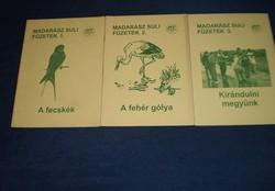 Madarász suli füzetek 1-2-3 könyvritkaság ~ 34