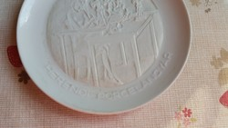 Herendi porcelán dísztányér eladó!