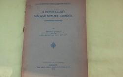 A Honfoglaló Magyar Nemzet Lovairól.   (1906)