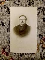 Deák Ferenc, a haza bölcse CDV  fotója, hibátlan állapotban eladó