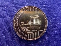 Harmadik Köztársaság (1989-napjainkig) aranyozott 200 Forint 2009 BP / id 11932/