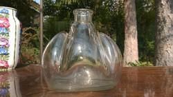 Dr.Noseda-gyönyörű formájú vastag falú díszüveg-palack