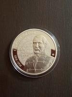 Görgei Artúr születésének 200. évfordulója 10000 ft ezüst érme 2018 PP certivel