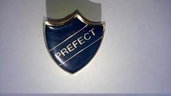 PREFECT kitűző ,jelvény-francia, elöljáró, rendőrfőnök,felügyelő