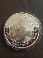 650 éves a magyar felsőoktatás PTE 10000 ft ezüst érme certivel 2018 PP