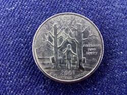 USA Vermont 1/4 Dollár 2001 D BU / id 12374/