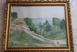 Dobroszláv akvarellrajz