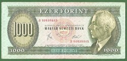 RITKA ÉS NAGYON SZÉP (VF) 1000 FORINT 1983 B MÁRCIUS