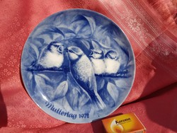 Csodálatos porcelán dísz tányér 4