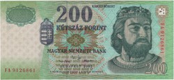 200 Forint 2002 FA - UNC