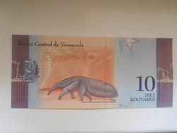Venezuela 10 bolivares  2018 UNC több száz bankjegy a kínálatomban a galérián